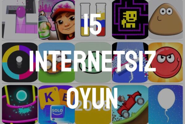 İnternetsiz Oyunlar – En İyi 15 İnternetsiz Oyun – Oyun Rehberi Yazı